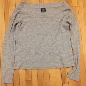 Grey American Eagle wool sweater
